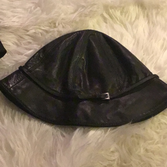 Prada Other - Authentic Prada leather hat
